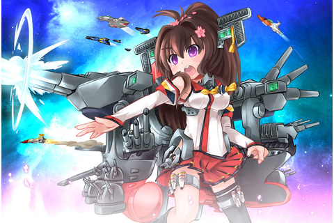 Space Battleship Yamato-tan | Kantai Collection | Know ...
