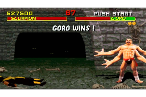Mortal Kombat (1992) HD! [Arcade Game] Gameplay - YouTube