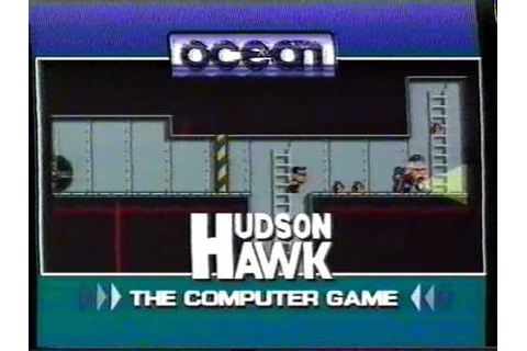 """Hudson Hawk: The Computer Game"" Advert Taken from VHS ..."