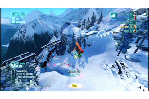 SSX ps3 gameplay - YouTube