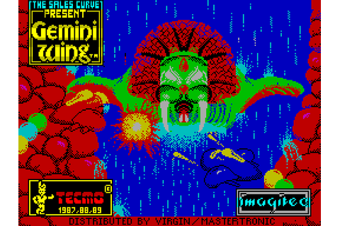Gemini Wing (1989) by Imagitec Design ZX Spectrum game