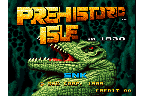 Prehistoric Isle in 1930, Arcade Video game by SNK (1989)