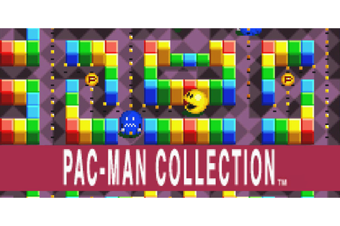 PAC-MAN COLLECTION™ | Game Boy Advance | Games | Nintendo
