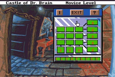 Download Castle of Dr. Brain - My Abandonware