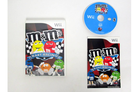 M&M's Kart Racing game for Nintendo Wii | The Game Guy
