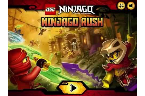 Ninjago Rush NEW Game - BEST Lego NINJAGO Games - YouTube