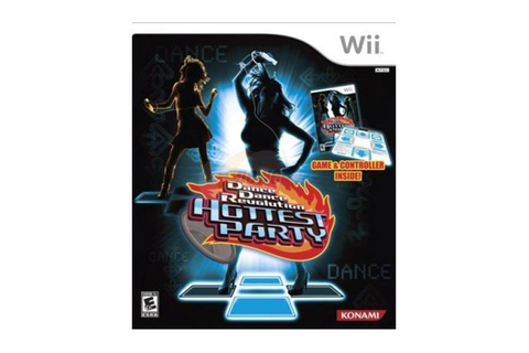 Dance Dance Revolution: Hottest Party Bundle Wii Game ...