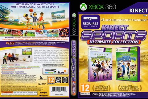 Kinect Sports Ultimate Collection - Xbox 360 - Ultra Capas