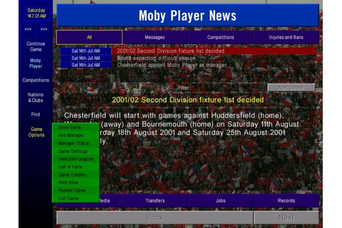 Download Championship Manager: Season 01/02 (Windows) - My ...