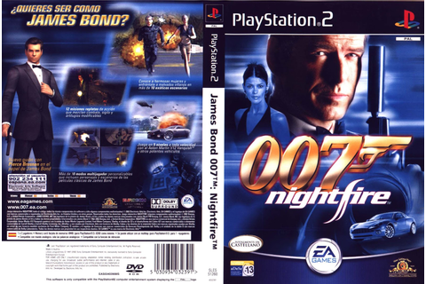 007 Nightfire – PS2 Game 2002 | Verdugo Online