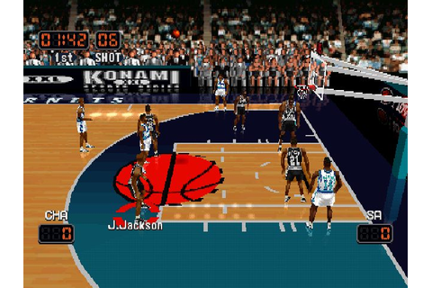 NBA In The Zone '99 (1999) by Konami PS game