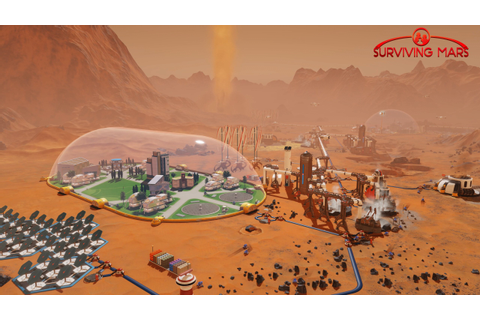 Wallpaper Surviving Mars, screenshot, 4k, Games #17773