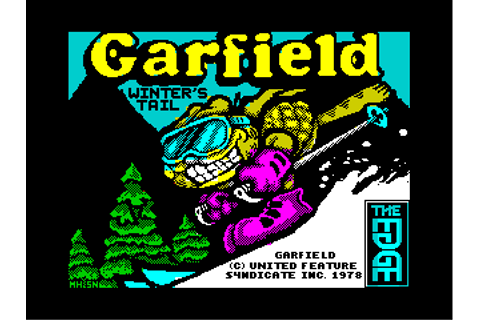 ZX-Spectrum classic games loading screens and graphics