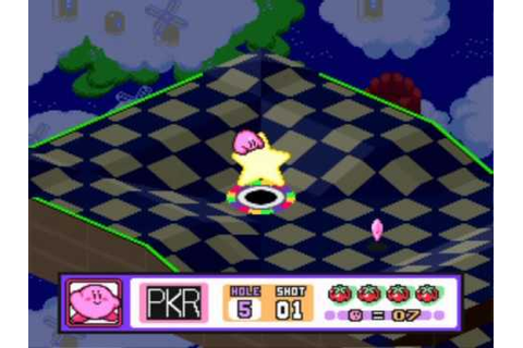 Kirby's Dream Course - Course 1 - YouTube
