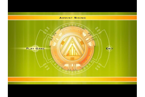 Advent Rising (2005) by GlyphX Games Windows game