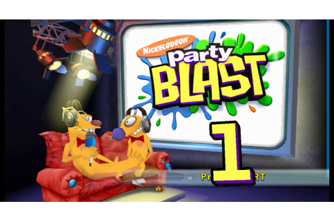 Let's Play Nickelodeon Party Blast, ep 1: Going way back ...