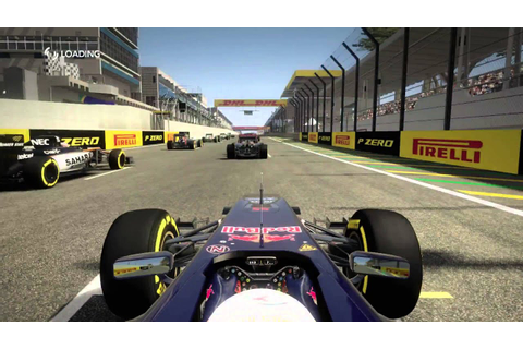 F1 2015 MOD for F1 2012 game - YouTube
