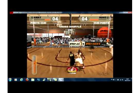 PCSX2:: And 1 Streetball PS2 on PC - YouTube