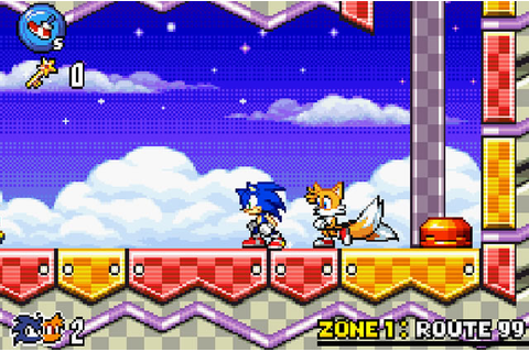 Play Sonic Advance 3 - Free online games with Qgames.org