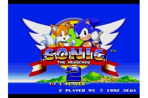 Sonic the Hedgehog 2 (Mega Drive/Genesis) [Longplay] - YouTube