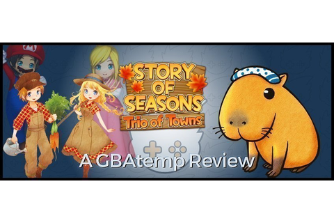 Review: Story of Seasons: Trio of Towns (Nintendo 3DS ...