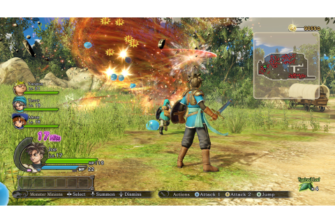 PC Port Report: Dragon Quest Heroes: The World Tree's Woe ...