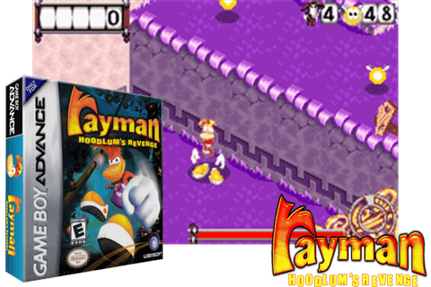RAYMAN : HOODLUMS' REVENGE [EUROPE] - (Game Boy Advance ...