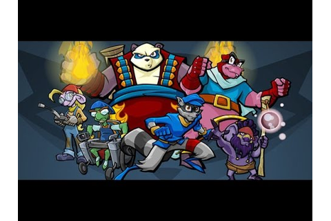 Sly 3 Honor Among Thieves all cutscenes HD GAME - YouTube