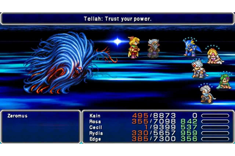 Final Fantasy IV Complete Collection PSP HD - Final ...