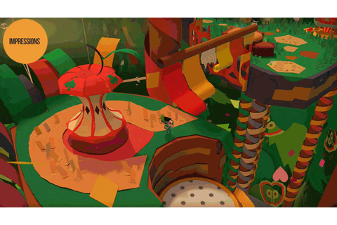 The Excellent Vita Game Tearaway Gets A Second Chance On PS4