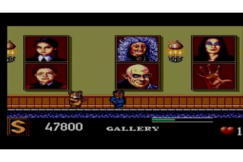 The Addams Family ( Sega Master System ) Why do i torture ...