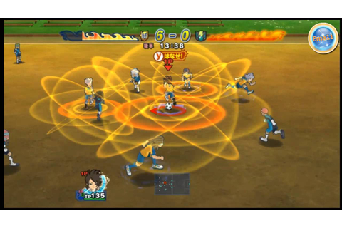 inazuma eleven strikers 2012 extreme vs Dark Emperors [HD ...