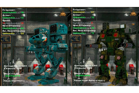 MechWarrior 4: Mercenaries GAME MOD MekTek Mechwarrior 4: Mercenaries ...