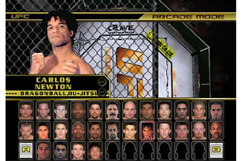 Screens: UFC: Throwdown - GameCube (6 of 8)