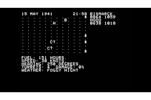 North Atlantic Convoy Raider for the Apple II - YouTube