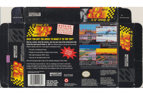Snes Central: Al Unser Jr's Road to the Top