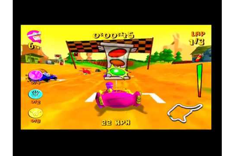 Wacky Races: Mad Motors PS2 Playthrough Part 2 - YouTube