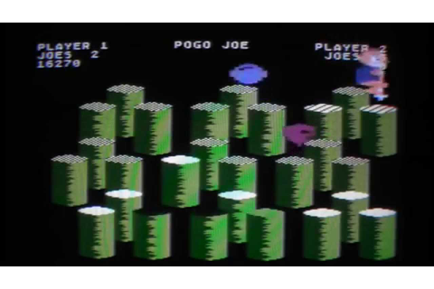 Let's Compare: Pogo Joe - C64 vs. Atari 800XL - YouTube