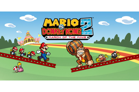 Mario vs. Donkey Kong 2: March of the Minis | Nintendo DS ...