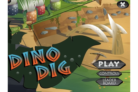 FireIce's Webosaurs Blog: Dino Dig - Game Of The Week