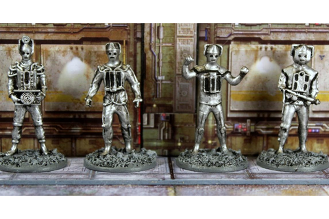 Vampifan's World of the Undead: Warlord Games Cybermen part 02