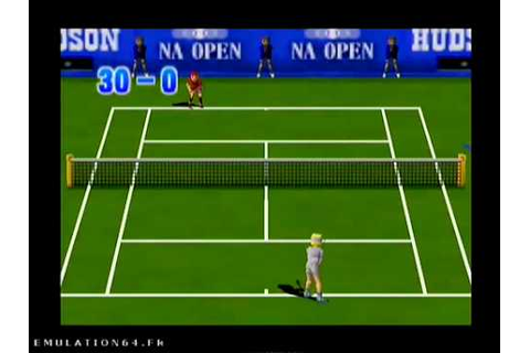 Centre Court Tennis (Nintendo 64) - YouTube