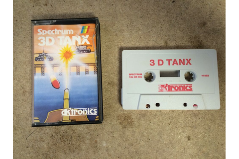 * Sinclair ZX Spectrum RARE Game * 3D-TANX * 3D TANKS * | eBay