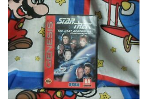 Sega Genesis Star Trek The Next Generation Echoes From The ...