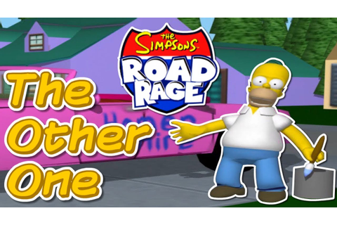 The Simpsons: Road Rage - That Other Simpsons Game - YouTube