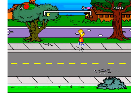 The Simpsons: Bart's Nightmare (1992) [SNES] - YouTube