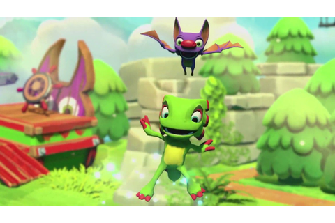 Yooka Laylee and the Impossible Lair Gameplay Trailer ...