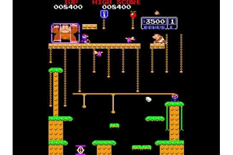 Arcade Longplay [355] Donkey Kong Jr. - YouTube
