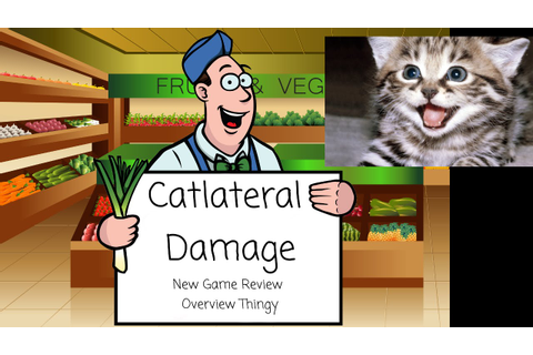 Catlateral Damage - New Game Review Overview Thingy! - YouTube