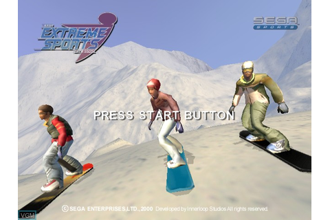 Sega Extreme Sports for Sega Dreamcast - The Video Games ...